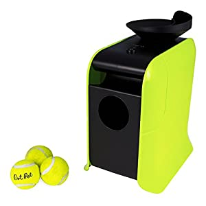 Electriq Automatic Dog Ball Launcher with Treat Dispenser 2