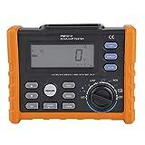 RCD Tester,PEAKMETER PM5910 Digitales Widerstandsmessgerät RCD-Widerstandstester Digital widerstand Meter Multimeter Schleife Widerstand Tester,mit Alarmfunktion und viel Zubehör