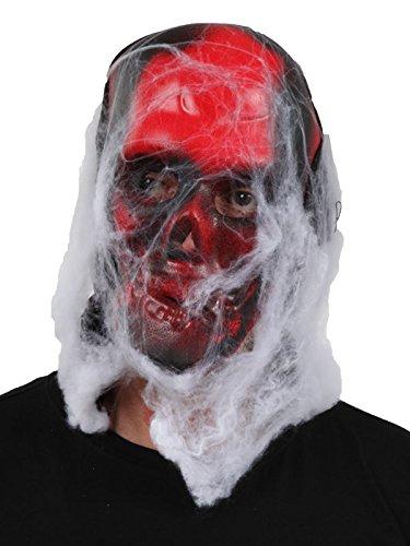 Máscara esqueleto goma eva
