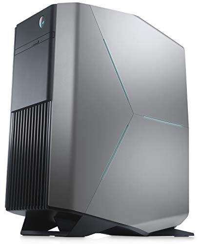 Alienware Aurora R8 Gaming Desktop (Epic Silver) (Intel Core i7-8700, 16 GB RAM, 128 GB SSD + 1 TB HDD, Nvidia GeForce GTX 1060 with 6 GB GDDR5, USB Type-C, Windows 10 Home) Best Price and Cheapest