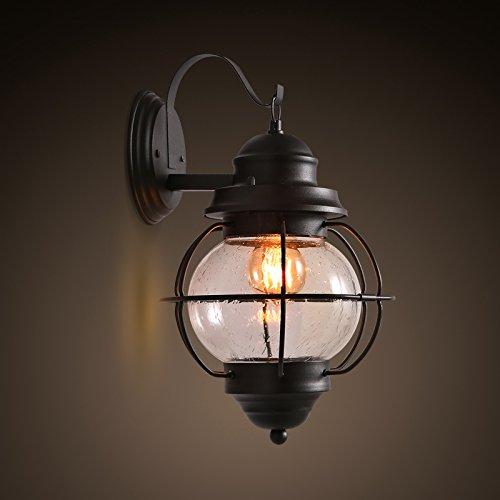 BBSLT Balcone retrò stile retrò Café Villa lampada industria corridoio