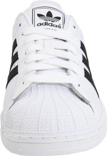 Adidas, Stivali uomo (White / Black / White)