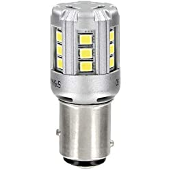 Osram 1457CW-02B Standard LEDP21 5W 12V Retrofit Headlights Cool White 6000K Double Blister Pack