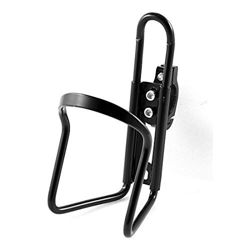 Noctronique Road Mountain Bicycle Bike Alloy Water Bottle Cage Holder ,Black