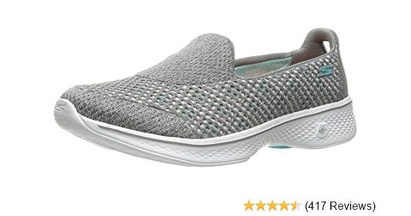 2184470ece5d Skechers Women s Go Walk 4 - Kindle Low-Top Sneakers Black  Amazon.co.uk   Shoes   Bags
