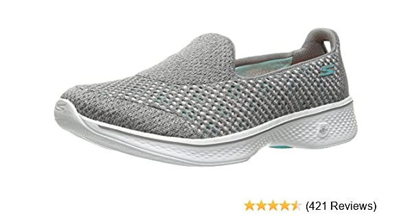 9e2284db5 Skechers Women s Go Walk 4 - Kindle Low-Top Sneakers Black  Amazon ...
