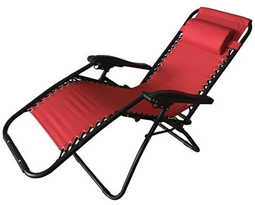 Sedia A Sdraio Basculante : Poltrona sedia sdraio pieghevole reclinabile lettino relax