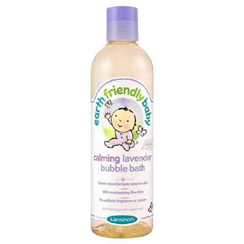 Earth Friendly bebé Orgánica Calming Lavender Baño de espuma 300ml