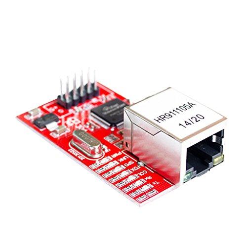 Baoblaze Ethernet LAN Netzwerkmodul Schematische für Arduino, Ethernet-Modul W5100-Netzwerkerweiterungsplatine