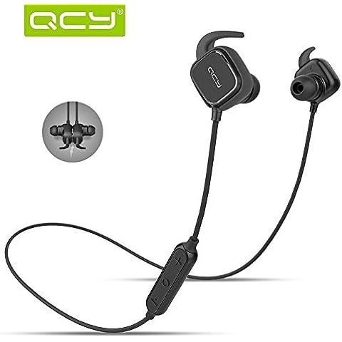 Auriculares con Im¨¢n,Marpow, Origen Bluetooth Auriculares,O¨ªdo de los auriculares con el micr¨®fono para todos Smartphone Xiaomi,Color
