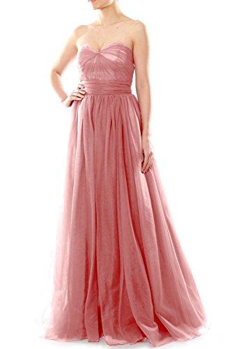 MACloth - Robe - Trapèze - Femme Rose - Blush Pink
