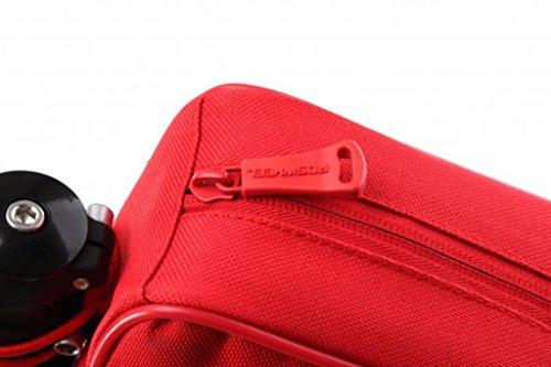 Tofern Radfahren Fahrrad Fahrrad Rahmentasche Oberrohrrahmentasche Vorderrohr Pannier - 8 Farben Alle Rot