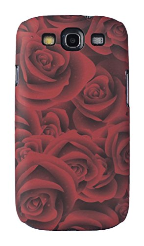Sun Mobisys™; Samsung Galaxy S3 I9300 Back Cover; Touch feel Embossed Printed Back Case for Samsung Galaxy S3 I9300 - ROSE  available at amazon for Rs.149