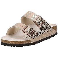 Birkenstock Arizona, Women's Fashion Sandals, Brown (Metallic Stones Copper 1006685), 3.5 UK (36 EU)