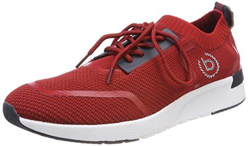 bugatti Herren 341305616900 Slip On Sneaker, Rot, 44 EU