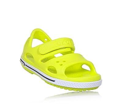 d7581f54b6f Crocs Crocband II Sandal PS Tennis Ball Green Croslite 7 UK Child