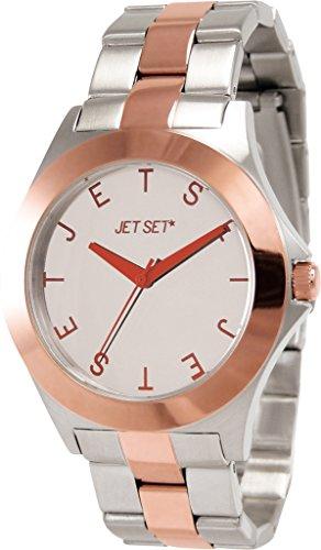 Jet Set J69796-652 - Orologio da polso Da Donna, Acciaio inossidabile, colore: Bicolore