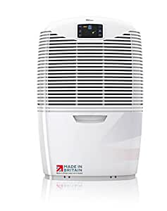 Ebac 3650e Powerful Laundry Dehumidifier for Condensation, Damp and Mould with Smart Auto-Function, 18 Litre Extraction Rate, Air Purification and Laundry Drying Modes, Free 2 Year Warranty, White