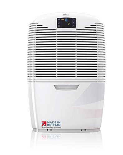 Ebac 3850e Most Powerful 21 Litre Dehumidifier for Condensation, Damp and Mould with Smart Auto-Function, ​Air Purification and Laundry Drying Modes, Free 2 Year Warranty, White