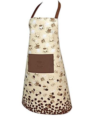 KAMACA COFFEE TIME Kaffee - Küchen - Schürze aus Baumwolle