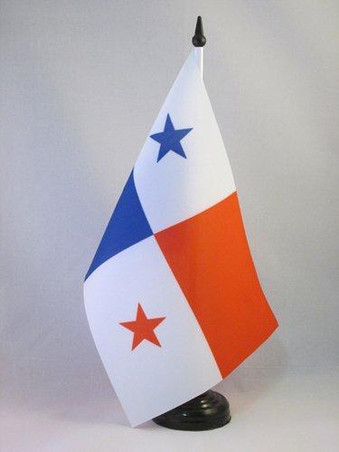 AZ FLAG Bandera de Mesa de PANAMÁ 21x14cm - BANDERINA de DESPACHO PANAMEÑA 14 x 21 cm