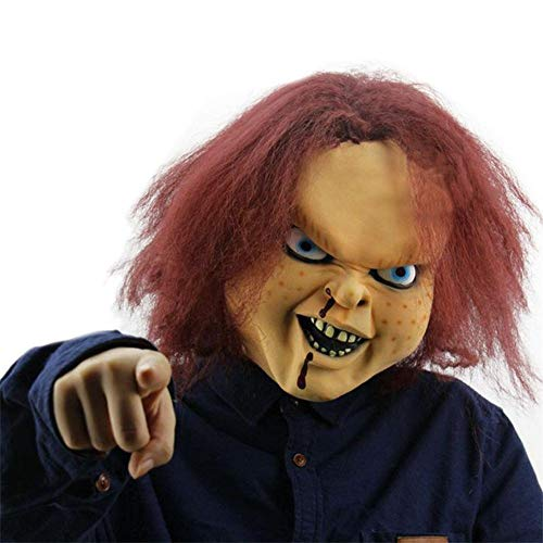 WAJMJFFMaskerade Masken Halloween Maske Scary Kinderspiel Latex Realistische -