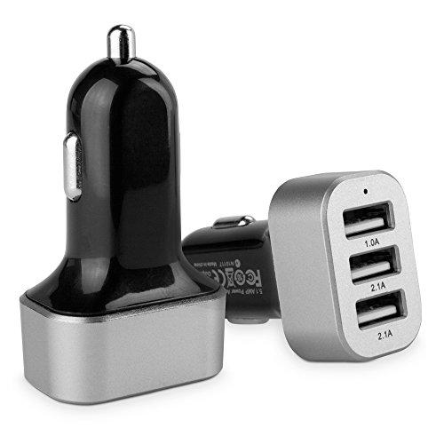 Electronics Corporation Pc (BoxWave Corporation-Micro Hochstrom Motion CL900Tablet PC KFZ-Ladegerät Universal-3-Port-USB-Kfz-Ladegerät für Motion CL900-Zoll-Tablet-PCs (schwarz))