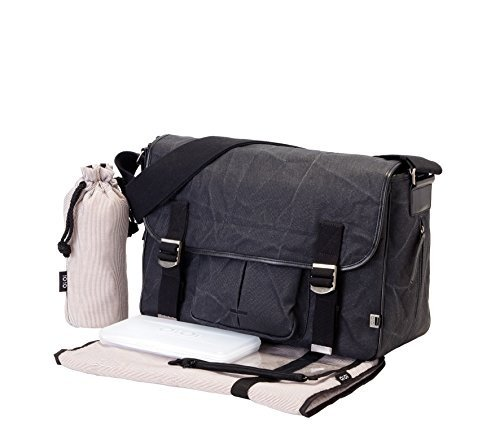 oioi-man-black-crushed-waxed-canvas-satchel-baby-changing-bag-with-cotton-pinstripe-lining-and-acces