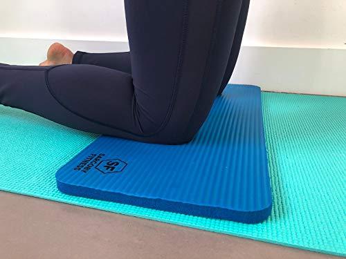 Yoga Knie Pad & # x1F449; für Polsterung & # x1F53C; Knie & # x1F53C; Ellbogen & # x1F53C; Unterarme & # x1F53C; Handgelenke in Fitness Übungen Pilates 1/5,1cm (15mm) Dick - Erweitern Gelenke Die Gesundheit Der