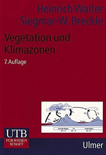 UTB Uni-Taschenbücher, Bd.14, Vegetation und Klimazonen