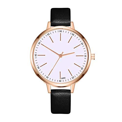 XZDCDJ Damen Uhrenarmband Uhren Quarzuhr Damen High-End Blue Glass Life Waterproof Distinguished Für Geschenkfreund Geschenk (Seiko-uhr-handgelenk-band-pins)