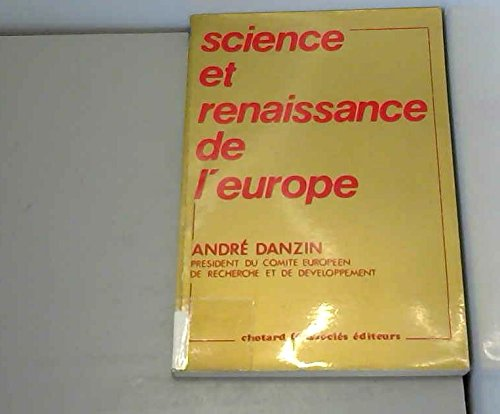 Science et renais europ b                                                                     073193