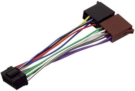 Hq Iso Sony16p Autoradio Adapterkabel Elektronik