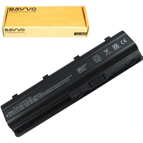 Bavvo Batería de Recambio para HP/COMPAQ Presario CQ56-100XX,6 células