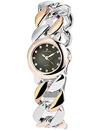 Reloj analógico Timento, de metal, diámetro de 27 mm, colour verde bicolour - 510046000015
