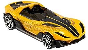 CRAYOLA- Hot Wheels Disney Edge Glow Cruisers, vehículo de Juguete (Toy State International 90604)