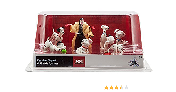 Disney 101 Dalmatians 7 Piece Figurine Playset