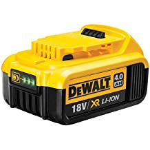 DeWalt DCB182-XJ - Batería carril XR de 18 V con Li-Ion 4, 0 Ah