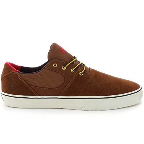 ES , Chaussures de skateboard pour homme marron Brown Tan Brown Tan
