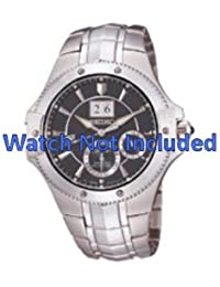 Correa de reloj Seiko 7D48 0AB0/SNP007P9 (no incluidos en el precio del reloj. Correa de reloj original solamente)