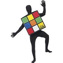 Generic - 351 389 - Cubo hombre del disfraz Rubik - Talla L