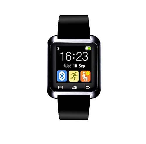 Mobile Gear Mobilegear Unisex Bluetooth Smart Watch for Android Mobile Phones with Pedometer and Sleep Record