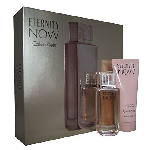 Set de Calvin Klein Eternity Now para mujer: Perfume + loción corporal. Pack de 1pieza