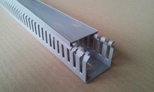 2 m 40×60 mm Verdrahtungskanal Kabelkanal grau Profiware von MD