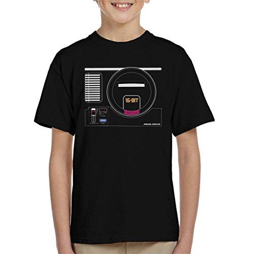 Sega Mega Drive Gaming Console Kid's T-Shirt