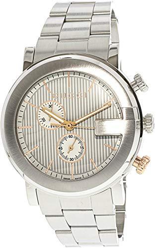 Gucci G Chronograph Homme 43mm Quartz Cadran Gris Montre YA101360