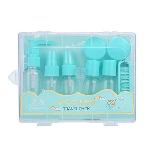 Trousses à maquillage Femme homme,ITISME 11Pcs Dégagent L'Atomiseur En Plastique Transparent Parfum Voyage Bouteille Jet Vide 50Ml