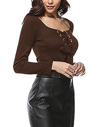 Amazon.es: camiseta rayas negras y blancas - ShifanEU / Camisetas, tops y blusas / Mujer: Ropa