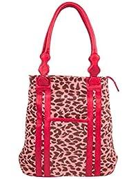 Stylogy Women's Tote Bag (Red) (bag-shld08-00004-a)