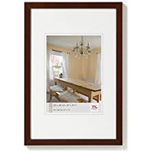 Walther Peppers BP045N Wooden Picture Frame, walnut, 30 x 45 cm